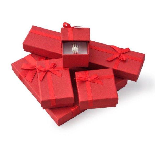 f5518fa4e Darčeková krabička - Červená s mašľou, Pomocné produkty - krabičky ...