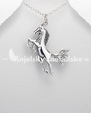 1ad057a43 Strieborný prívesok kôň, Prívesky, Anjelskydiabolské šperky ...